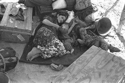 Iraqi jews displaced 1951