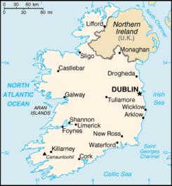 Geografa de Irlanda  Wikipedia la enciclopedia libre
