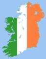 Ireland island flag.png
