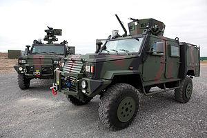 Modern vehicles of the Irish Army - Image: Irish Army RG 32M Light Tactical Armoured Vehicle LTAV (4520429843)