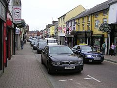 Die Irish Street in Dungannon.
