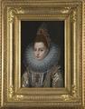 Isabella Klara Eugenia, 1566-1633, gift med ärkehertig Albrekt av Österrike (Frans Pourbus d.y.) - Nationalmuseum - 17574.tif