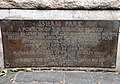 Isham Park plaque.jpg