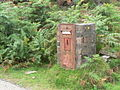Isle of Eigg, redundant postbox - geograph.org.uk - 916354.jpg