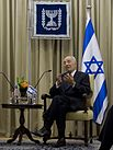 Israeli President Shimon Peres in Jerusalem--April 22 2013a.jpg