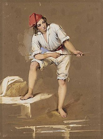 Richard Buckner (artist) - Image: Italian fisherboy