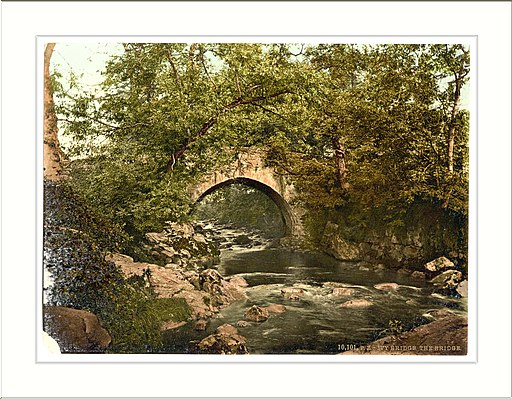 Ivybridge the bridge Plymouth England