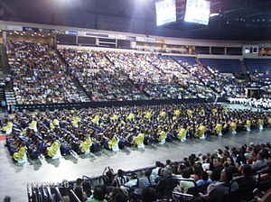 John B. Alexander High School - J. B. Alexander High School Graduation in 2009 at the Laredo Energy Arena