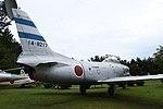 JASDF F-86D(14-8217) right rear view at Komatsu Air Base September 17, 2018.jpg