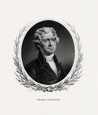 Thomas Jefferson Born 1743