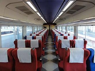 789 series - Image: JR Hokkaido Moha 788 100 inside