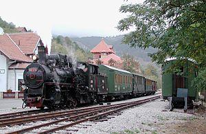 Mokra Gora - Mokra Gora railway station in September 2003.