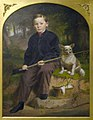 Jacob Cox - Portrait of Charles H. Brewer (Boy Fishing with Dog) - 1996.312 - Indianapolis Museum of Art.jpg