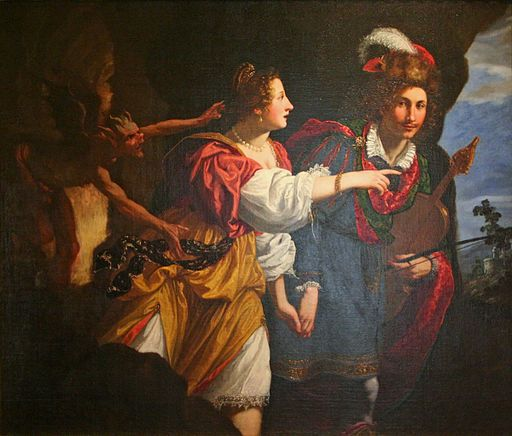 Jacopo Vignali - Orphée et Eurydice