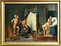 Jacques-louis david, apelle ritrae camaspe alla presenza di alessandro, 1813-23 ca.jpg