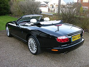 Jaguar XK (X100) - Convertible