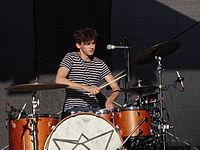 Jakob Sudau (Tonbandgerät) (Rio-Reiser-Fest Unna 2013) IMGP8045 smial wp.jpg