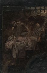 Study for Burying the Royal Children