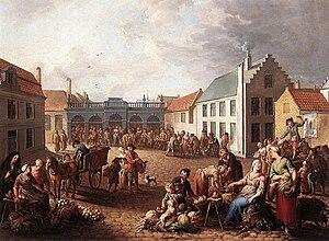 Jan Anton Garemyn - Image: Jan Antoon Garemijn The Pandreitje in Bruges WGA08468