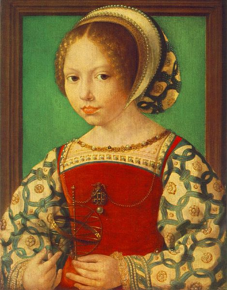 File:Jan Gossaert - Young Girl with Astronomic Instrument - WGA9784.jpg