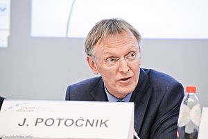 Janez Potočnik, EU Commissioner for the Enviro...