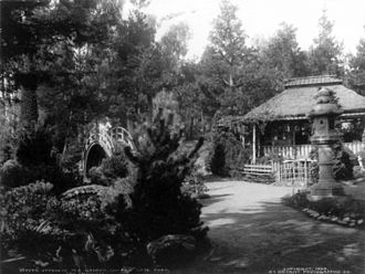 Japanese Tea Garden (San Francisco) - The tea garden in 1904