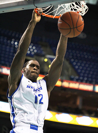 Mid-American Conference Men's Basketball Player of the Year - Javon McCrea, 2014 winner from the University at Buffalo.
