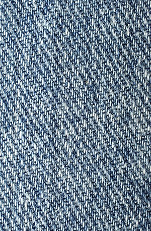 Denim, the jeans fabric