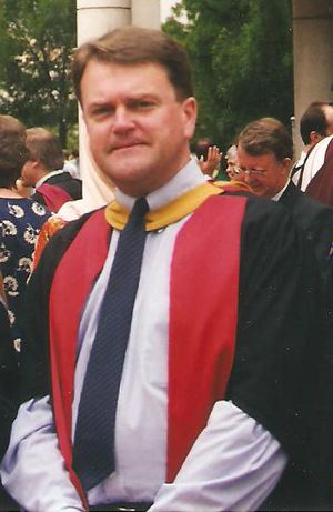 Jeffrey Grey - Jeffrey Grey at ADFA graduation ceremonies in 1999