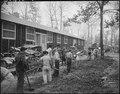 Jerome Relocation Center, Denson, Arkansas. A typical scene, showing a crew of men preparing draina . . . - NARA - 538868.tif