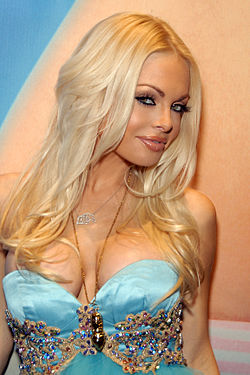 Jesse Jane (1980- )Photographiée le 7 janvier 2010 à l'AVN Adult Entertainment Expo qui s'est tenu au Sands Convention Center, Las Vegas, Nevada