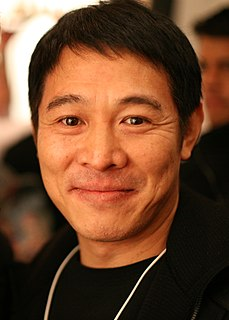 Jet Li Chinese-Singaporean martial artist and actor