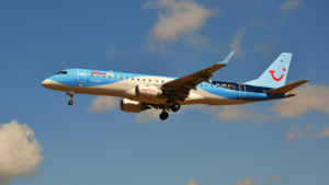 TUI fly Belgium - TUI fly Belgium Embraer 190 still wearing Jetairfly titles