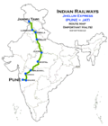 Jhelum Express Route map.png