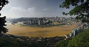 Jialing River - The Jialing in Chongqing