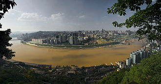 Jialing River - The Jialing in Chongqing
