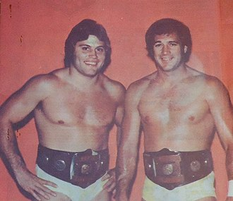 Jim Brunzell - Brunzell was a two-time AWA World Tag Team Champion with Greg Gagne