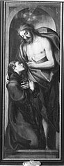 Christus zeigt einem jungen Mönch seine Wundmale
