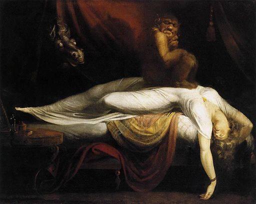 Johann Heinrich Füssli - The Nightmare - WGA08332