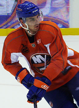 Description de l'image  JohnTavares cropped.JPG.