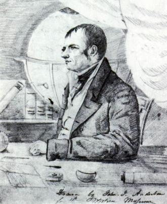 "John Cleves Symmes Jr. - ""John Cleves Symmes Jr and His Hollow Earth"" by John J. Audubon, 1820"