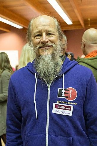 John Gilmore (activist) - Gilmore in 2018