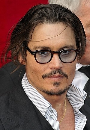Public Enemies (2009 film) - Depp at the film's Paris premiere.