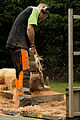 Jonnychainsaw during a chainsaw art demonstration in Scotland 09.jpg