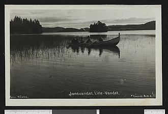 Jonsvatnet - Image: Jonsvandet. Lille Vandet no nb digifoto 20150623 00305 bldsa PK16868