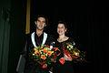 Josef Fares och Anna Anthony vinnare av Nordiska radets filmpris 2006.jpg