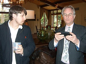 The Greatest Show on Earth: The Evidence for Evolution - The book is dedicated to Dawkins' technical assistant and web designer Josh Timonen (left)