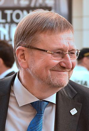 Juozas Bernatonis - Image: Juozas Bernatonis 2016 (cropped)