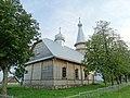Jurgeliškės cerkvė. Galinis fasadas.JPG