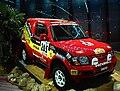 Jutta Kleinschmidt - Andreas Schulz, Mitsubishi Pajero, Rally Dakar 2001.jpg